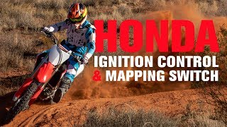 3. How To Use the Honda CRF Launch Control and Mapping Switch