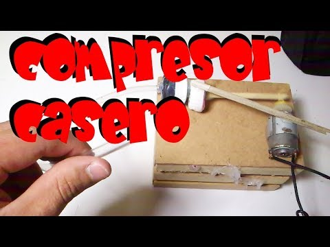 Videos caseros - compresor casero