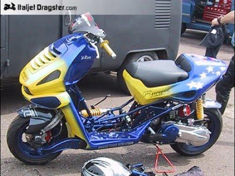 pm tuning italjet dragster rare 183cc 2t