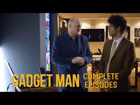 Richard Ayoade bosses working from home: Gadget Man The FULL Episodes | S4 Episode 2