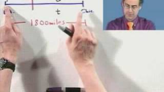 Solving For Constant Velocity From Thinkwell College Algebra