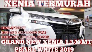 Download Video XENIA X STD 2019 TERMURAH | DAIHATSU GRAND NEW XENIA 1.3 X MT PUTIH MUTIARA 2019 - INDONESIA MP3 3GP MP4
