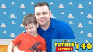 Father and Sonday!   Opening Pokemon Cards with Lukas #140 by The Pokémon Evolutionaries
