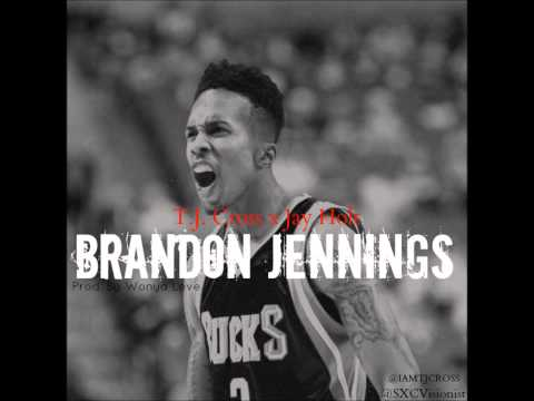 T.J. Cross - Brandon Jennings #MILWAUKEE ft. Jay Holt [Prod.Wonya Love]