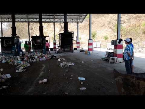 Dây chuyền xử lý rác thải sinh hoạt bằng lò đốt công nghệ NFI-05 P1