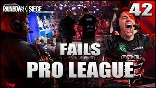 Los MAYORES FAILS de PRO LEAGUE | Reaccionando | Caramelo Rainbow Six Siege Gameplay Español