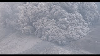 Terrifying Pyroclastic Flows Sinabung Volcano Eruption in 4K Ultra HD