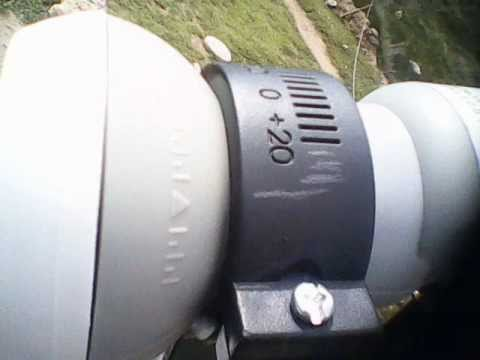 COMO ORIENTAR UNA ANTENA SATELITAL al Satelite AMAZONAS HISPASAT  TELSTAR