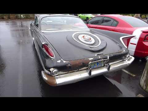 1960 Chrsyler 300 And 1958 DKW 3=6 Cars And Coffee PDX Cascade