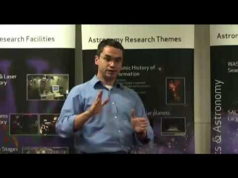 Zu was deht sich das Universum? 90 Sekunden Vortrag (9/11)
