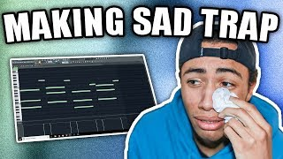 Video IM CRYIN | Making A SAD Trap Beat From Scratch (FL Studio 12 How To Make Sad Beats) MP3, 3GP, MP4, WEBM, AVI, FLV Agustus 2018