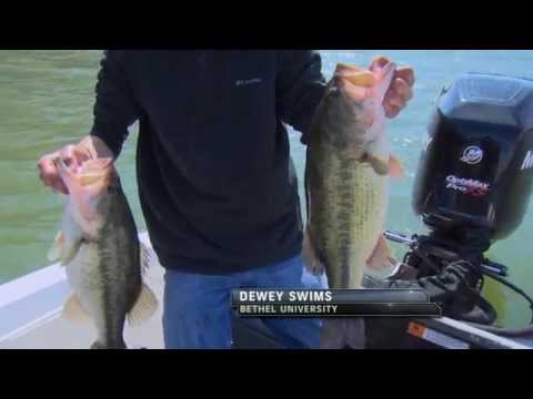2014 Collegiate Bass Fishing Open Day 1  From Lake Chickamauga