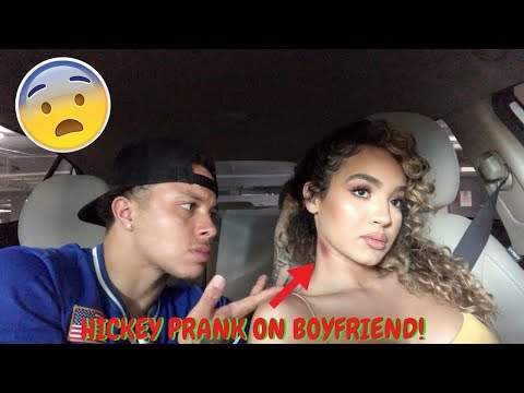 HICKEY PRANK ON BOYFRIEND! ** HE LEAVES ME **