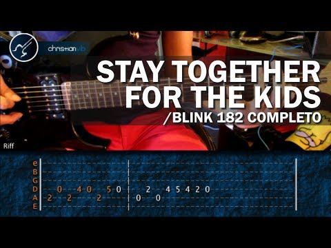182 - MAS TUTORIALES http://www.christianvib.com/index.php Stay Together For The Kids Guitarra Tutorial Riff Lección Lesson Christianvib Hoy to play Stay Together ...