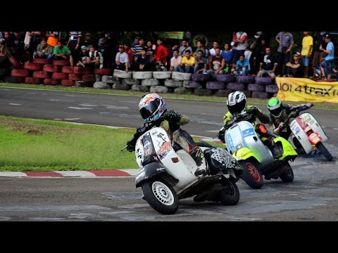 Highlight Indonesia Scooter Championship  Round 1