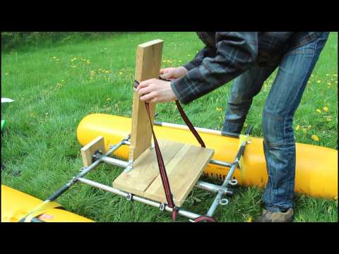 Поплавки для катамарана из пнд труб своими руками: поплавки для катамарана