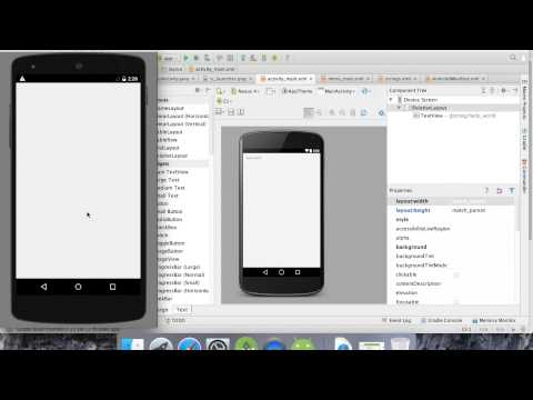 Tutorial: Android Studio, from zero knowledge to something basic
