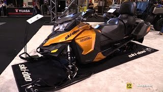 8. 2016 Ski Doo Grand Touring SE 1200 Sled - Walkaround - 2015 Toronto Snowmobile & ATV Show