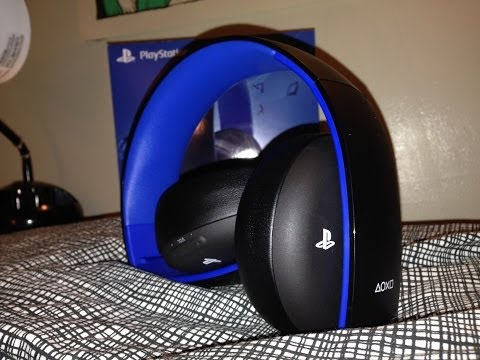 Review & Mic Test: Gold Wireless Stereo Headset for PS4/PS3