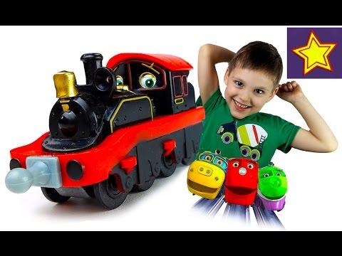 Чаггингтон игрушечный паровозик Пит Игрушки для детей Chuggington