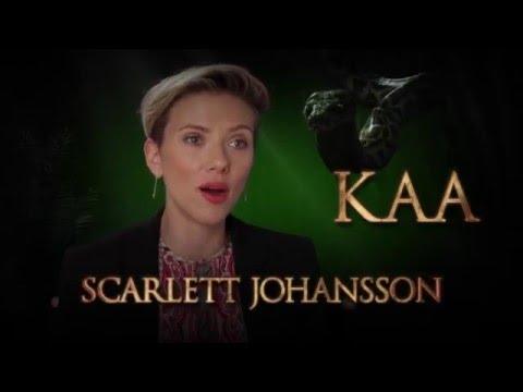 The Jungle Book (Scarlett Johansson is Kaa Spot)