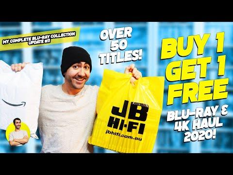 BUY 1, GET 1 FREE!! BLU-RAY & 4K MADNESS!! - Blu-ray & 4K Haul 2020