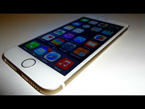 Apple iPhone 6 Review (Gold)