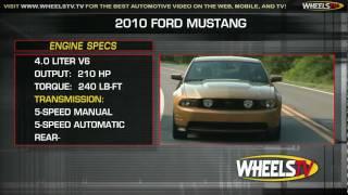 2010 Ford Mustang Test Drive - WheelsTV