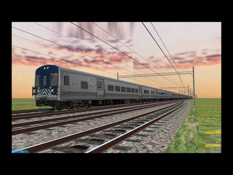 OpenBVE HD EXCLUSIVE: Metro North Railroad Bombardier M7 EMU WIP Cab Ride On Maastricht Local