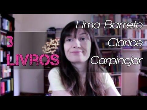 3 Livros: Contos de Lima Barreto + A Hora da Estrela + Te pego na saída