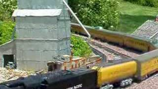 garden railroads USAT Big Boy