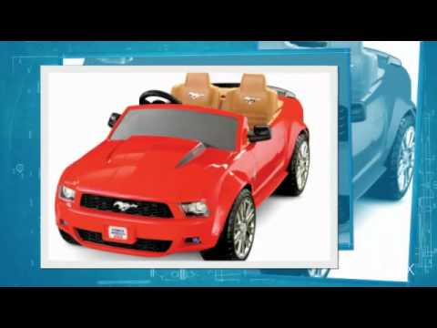 Baby Car Toys – Power Wheels Ford Mustang