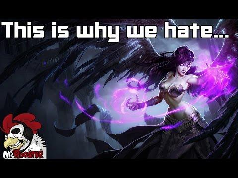 Liên Minh Huyền Thoại: Đây là lý do vì sao tôi ghét Morgana -_-