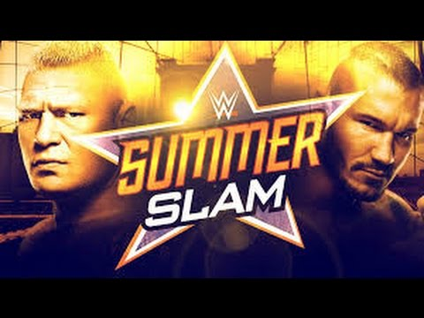 Brock Lesnar Vs. Randy Orton WWE SummerSlam 2016 Promo