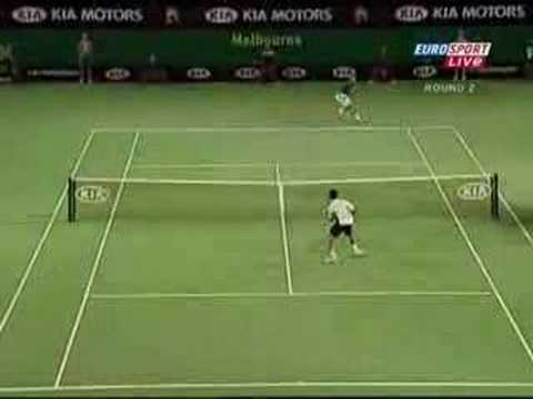 Federer vs Suzuki rally