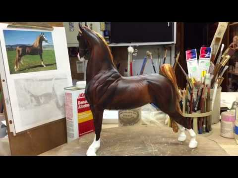 Video Painting Model Horse White Markings download in MP3, 3GP, MP4, WEBM, AVI, FLV January 2017