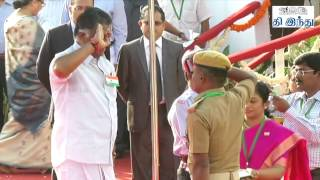 Republic day Parade in Chennai | Flag Hoisting | Tamil The Hindu