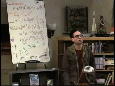 gli errori di big bang theory