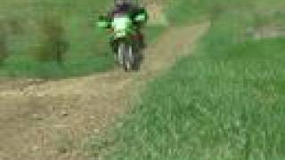 5. Kawasaki KLR 650 off road..........all bike........no music.