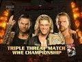 foto Triple H vs Jeff Hardy vs Edge Armageddon 2008 Highlights/Resumen