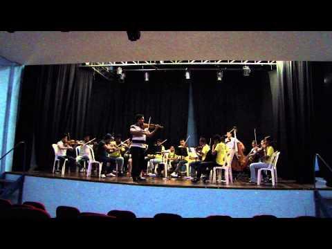 CONCERTO SOL MAIOR - 1º movimento - Vivaldi, Antonio - Camerata Rondon