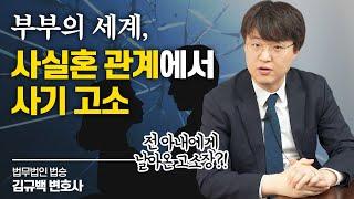 부부의 세계, 사실혼 관계에서 사기 고소 #천안이혼변호사