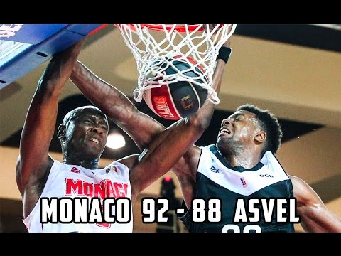 Pro A — Monaco 92   88 ASVEL — Highlights