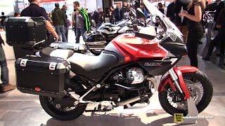 8. 2015 Moto Guzzi Stelvio 1200 NTX 8V - Walkaround - 2014 EICMA Milan Motorcycle Exhibition