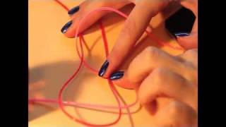 DIY tutorial: lanyard multicoloured bracelets - YouTube