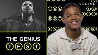 YK Osiris Takes The Drake Quiz   The Genius Test