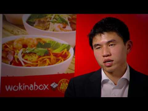 2011 Ethnic Business Awards Finalist – Small Business Category – Cheng Pan – Wok in a Box