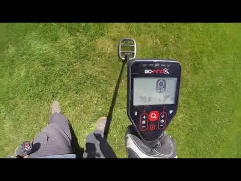Metal Detecting With The Minelab Go-Find. First Impressions.