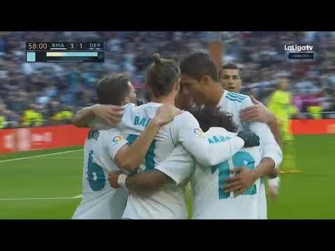Real Madrid vs Deportivo La Coruna 7 1   All Goals & Extended Highlights   La Liga 21 01 2018 HD