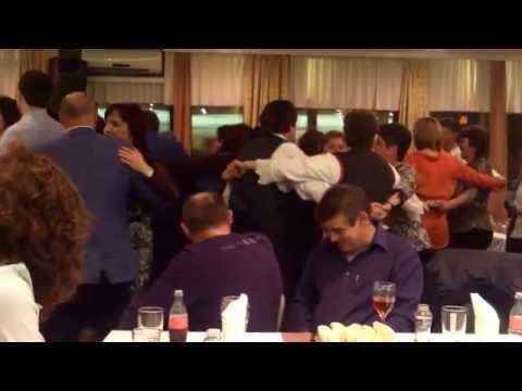 Razigrani posetioci Banijske večeri 2015 u Beogradu